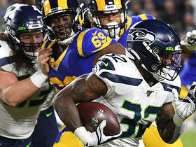 Chris Carson surpasses 1K rushing yards for second consecutive season