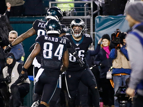 Walk-off TD! Zach Ertz's second score wins it in OT for Eagles