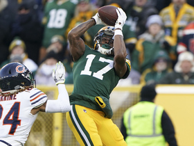 Can't-Miss Play: Davante Adams sprints past Bears' CB for fourth-down TD