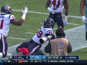 Can't-Miss Play: Whitney Mercilus grabs miracle INT, returns for 86 yards and near-TD