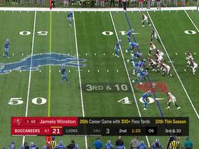 Devon Kennard bull-rushes his way to Winston for powerful sack