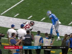 Chris Godwin works open for big 38-yard catch and run