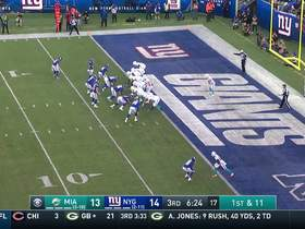 Giants bring relentless pressure up front for a HUGE momentum-shifting safety