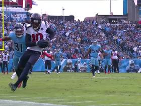 Watson launches 35-yard strike to toe-tapping Hopkins near the sideline