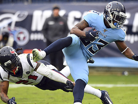 Dion Lewis' first TD of 2019 comes in key spot for Titans