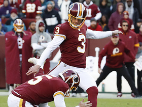 Dustin Hopkins gives team lead with 43-yard FG attempt