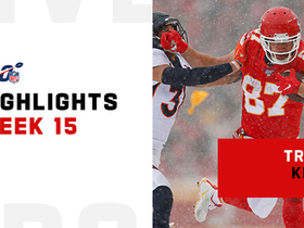 Every catch from Travis Kelce's 142-yard game | Week 15