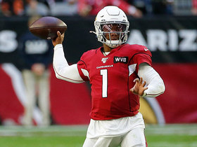Kyler Murray shows arm strength on 16-yard dart to Larry Fitzgerald