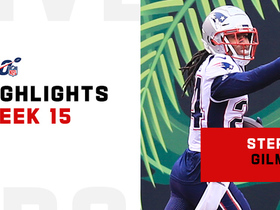 Stephon Gilmore's best plays from 2-INT game | Week 15