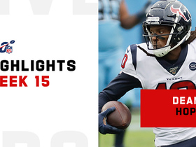 Every catch by DeAndre Hopkins from 119-yard game | Week 15
