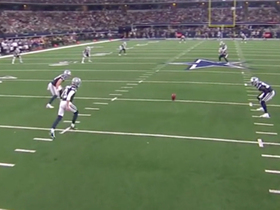 Kai Forbath's debut with Cowboys begins with sending opening kickoff out of bounds