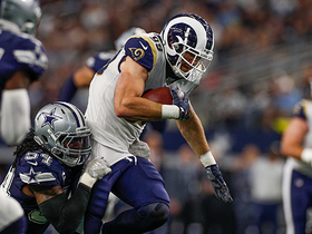 Tyler Higbee gashes Cowboys secondary with 26-yard catch and run