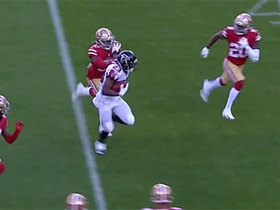 Brian Hill gashes 49ers D during 16-yard run