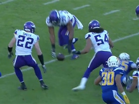 Danielle Hunter recovers third forced-fumble by Vikings' D