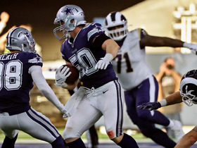 Cowboys sideline erupts after Sean Lee's key INT before half