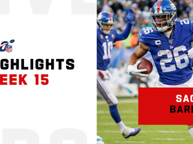 Saquon Barkley's best plays from 143-yard day | Week 15