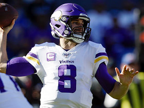 Kirk Cousins unleashes 46-yard pass to Diggs