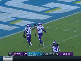 Mike Hughes picks off Philip Rivers for another Vikings turnover