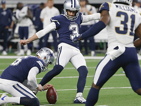 Kai Forbath drills 42-yard field goal to extend Cowboys' lead