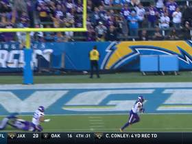 Anthony Harris ends Vikings' outstanding day with an INT