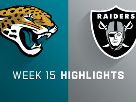 Jaguars vs. Raiders highlights | Week 15