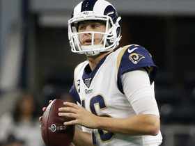 Goff hits Cooper Kupp on slant for first passing TD of day