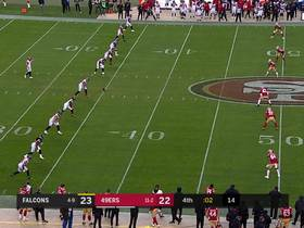 Olamide Zaccheaus scores Falcons TD at buzzer after 49ers' lateral goes awry