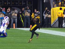 James Washington hauls in huge third-down conversion to keep late drive alive