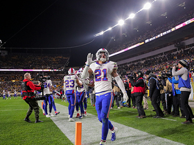 Jordan Poyer secures Bills' critical third INT vs. 'Duck' Hodges