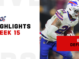 Best defensive plays by Bills in prime time | Week 15