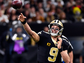 Drew Brees lobs 20-yard, flat-footed DIME to Jared Cook