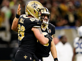 Can't-Miss Play: No. 541! Brees adds to TD record with 28-yard strike to Hill