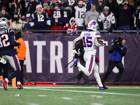 Can't-Miss Play: John Brown smokes Pats' secondary for 53-YARD TD