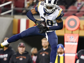 Can't-Miss Play: Jalen Ramsey gets MAJOR air for first INT with Rams