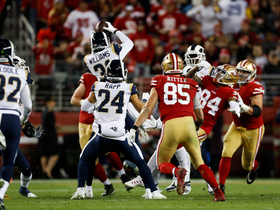 Rams corral hot-potato INT for early second-half turnover