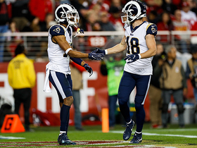 Kupp turns Goff's third-down strike into 22-yard TD catch and run