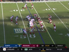 Saquon Barkley slices through Redskins' D for quick 32 yards