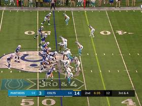 Jacoby Brissett escapes all-out blitz for 24-yard scramble on third down