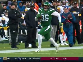 Darnold drops it off to Trevon Wesco for 32-yard catch and run