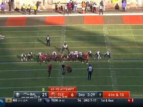 Austin Seibert nails 47-yard FG