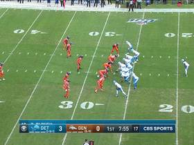 Jeremiah Attaochu explodes up the middle for sack