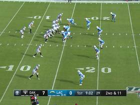 Tyrell Williams cuts across the field for speedy 43-yard gain