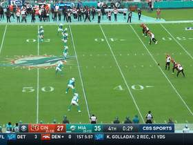 Bengals execute perfect onside kick to get ball back late