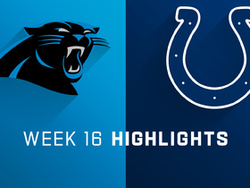 Panthers vs. Colts highlights | Week 16