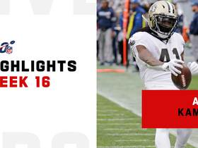 Alvin Kamara's best plays from 2-TD game | Week 16