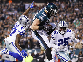 Dallas vs. Dallas! Goedert beats Cowboys for impressive early TD grab