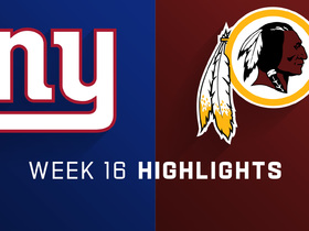 Giants vs. Redskins highlights | Week 16