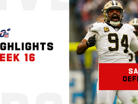 Every Saints sack from monster game vs. Titans | Week 16
