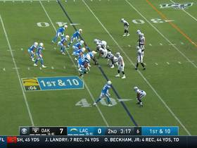 Austin Ekeler shakes a pair of would-be tacklers on shifty 17-yard catch and run