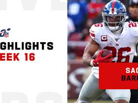 Saquon Barkley's best plays from career-high yardage game | Week 16